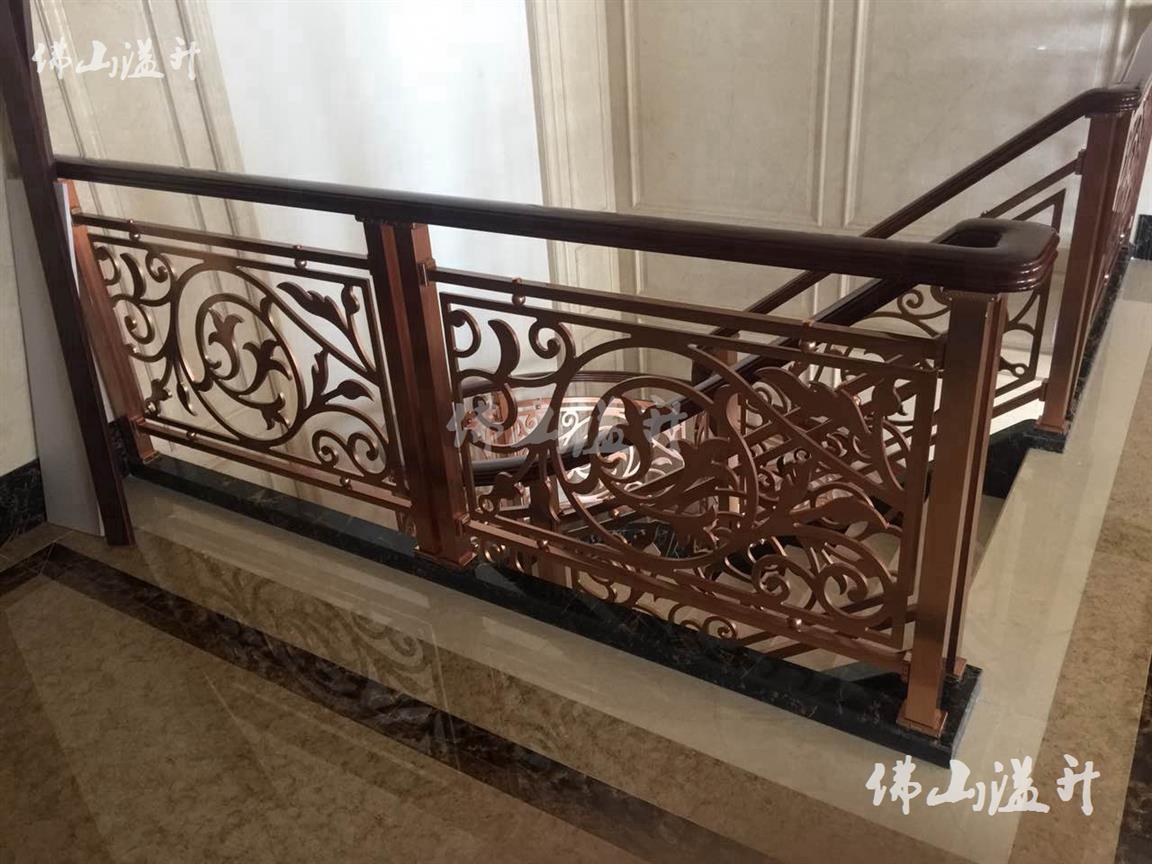 无锡优质铜艺不锈钢楼梯扶手厂