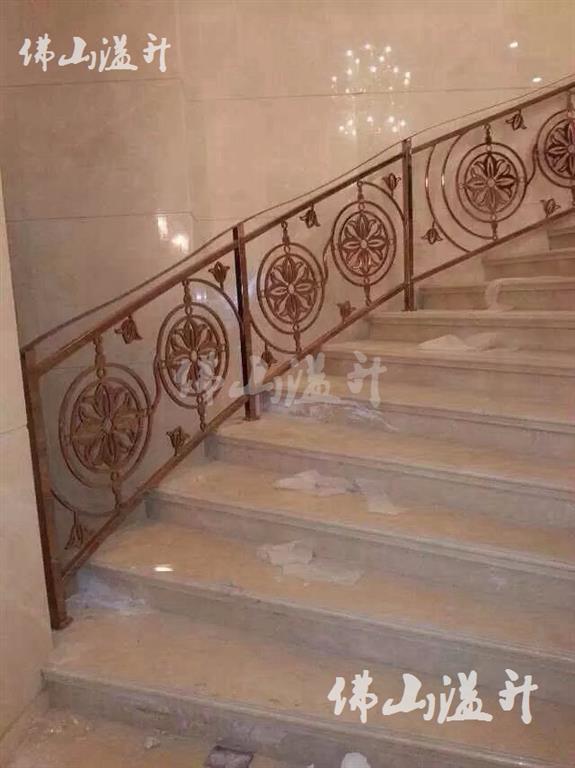 保定良好铜艺不锈钢楼梯扶手费用