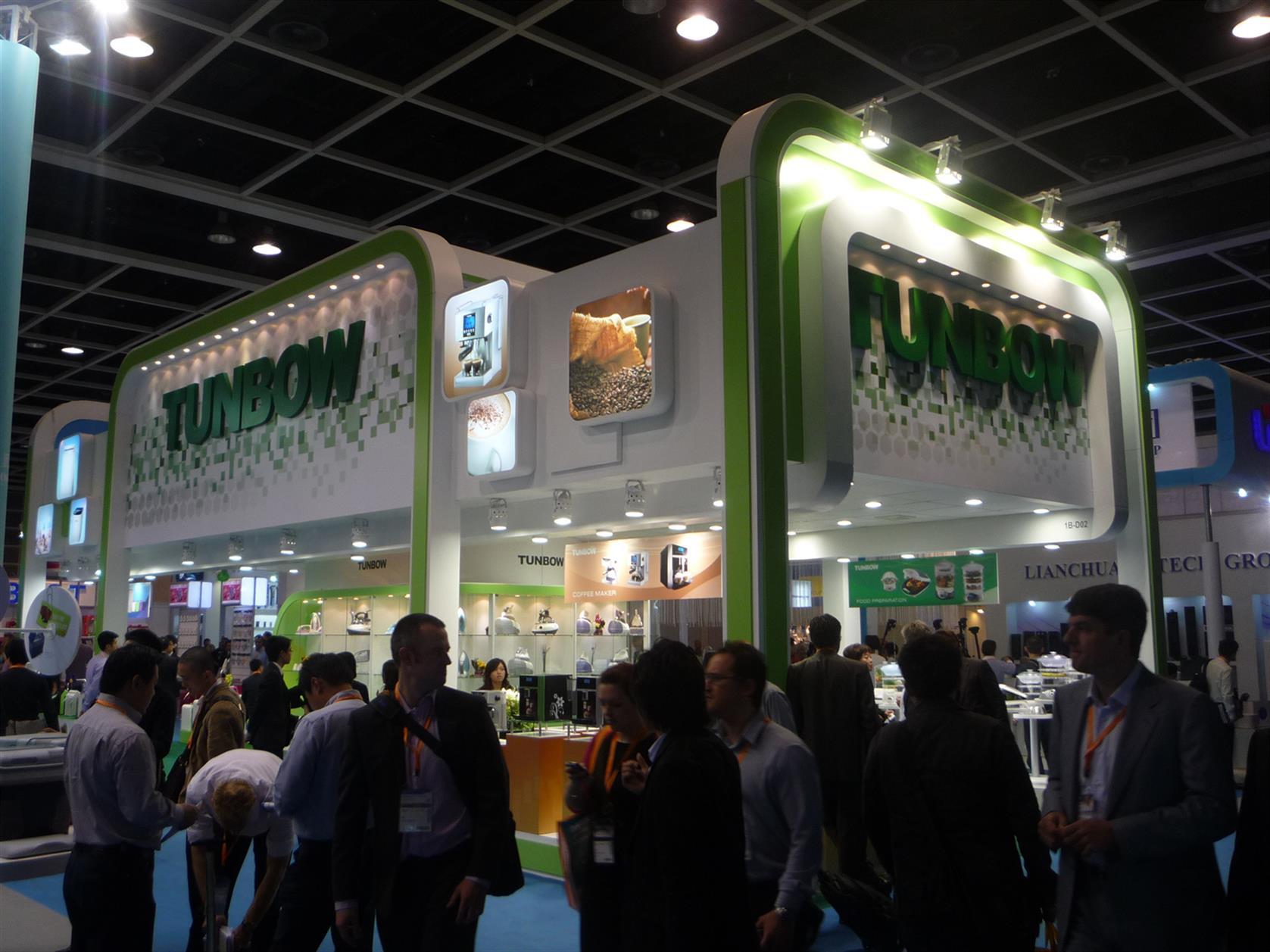 香港展会舞台搭建