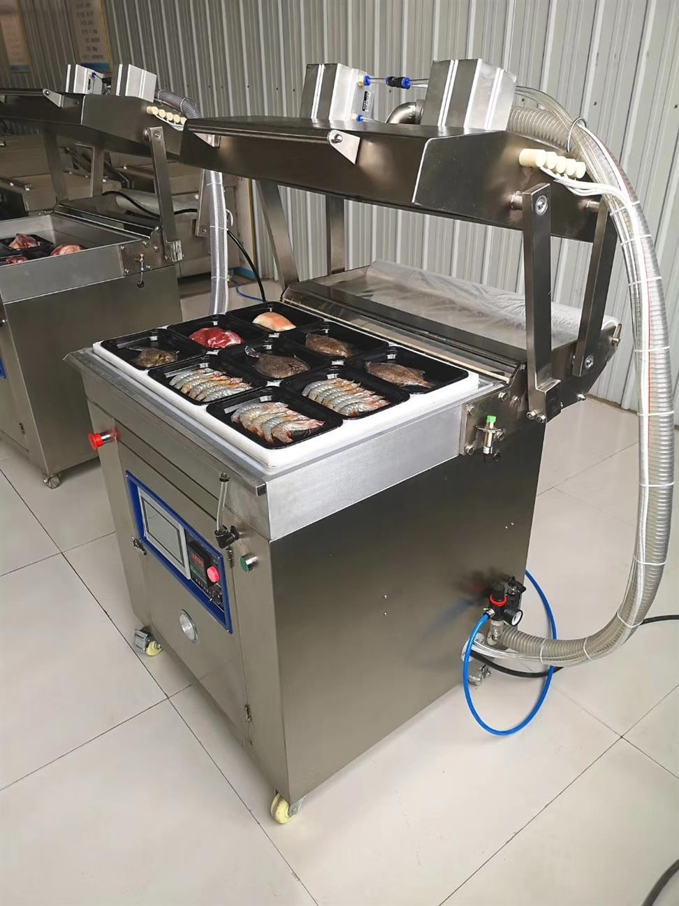 珠海龙虾贴体包装机