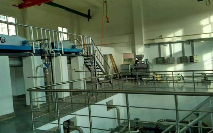 淄博自来水厂污泥脱水设备制造厂