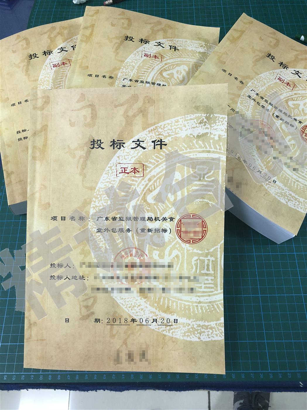 广州标书代写制作