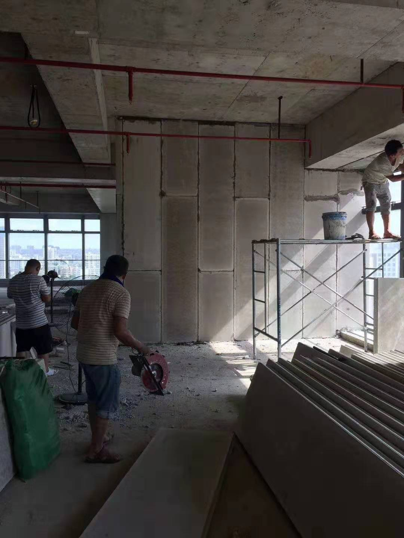 水泥轻质隔墙板工程