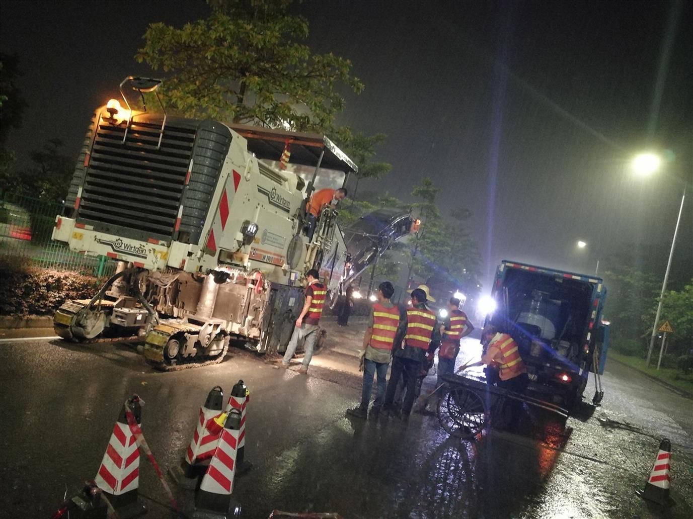 广州沥青路面施工承包