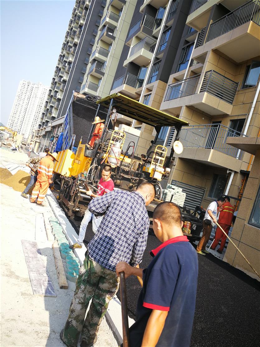 广州沥青路面施工