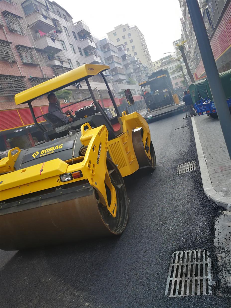 广州停车场沥青路面