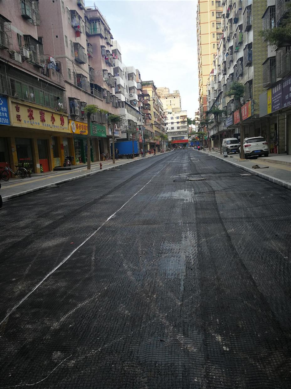 广州透水彩色沥青路面