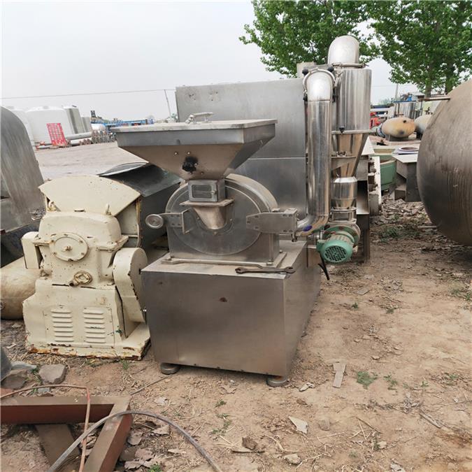 杭州二手水滴式锤片粉碎机出售