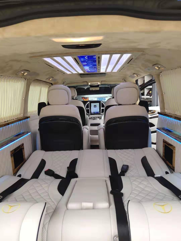 上海奔驰V250升级改装埃尔法航空座椅