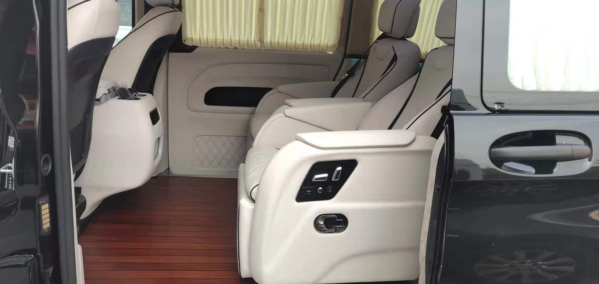 杭州奔驰商务车改装木地板