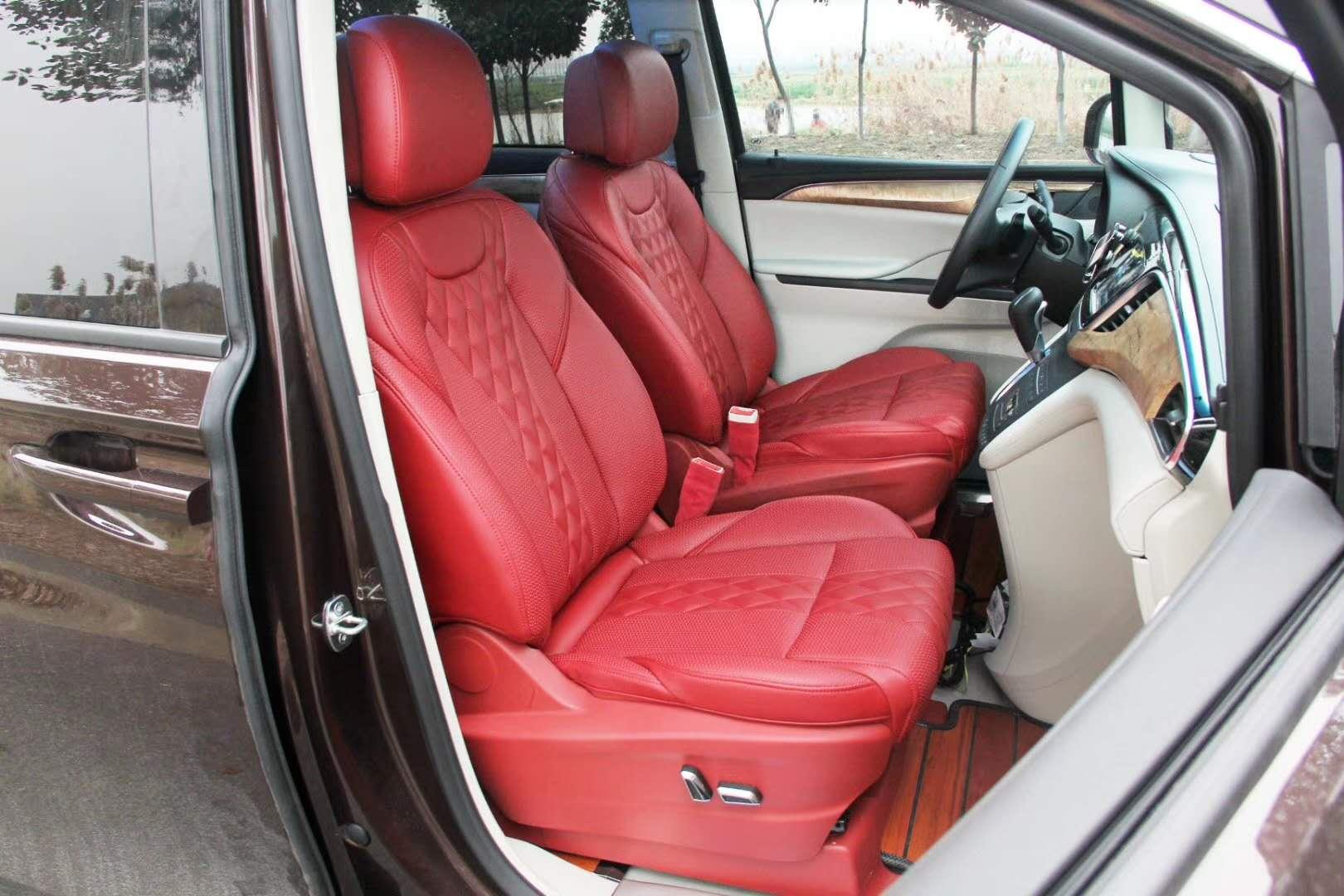 卢湾别克GL8 28T改装升级航空座椅木地板