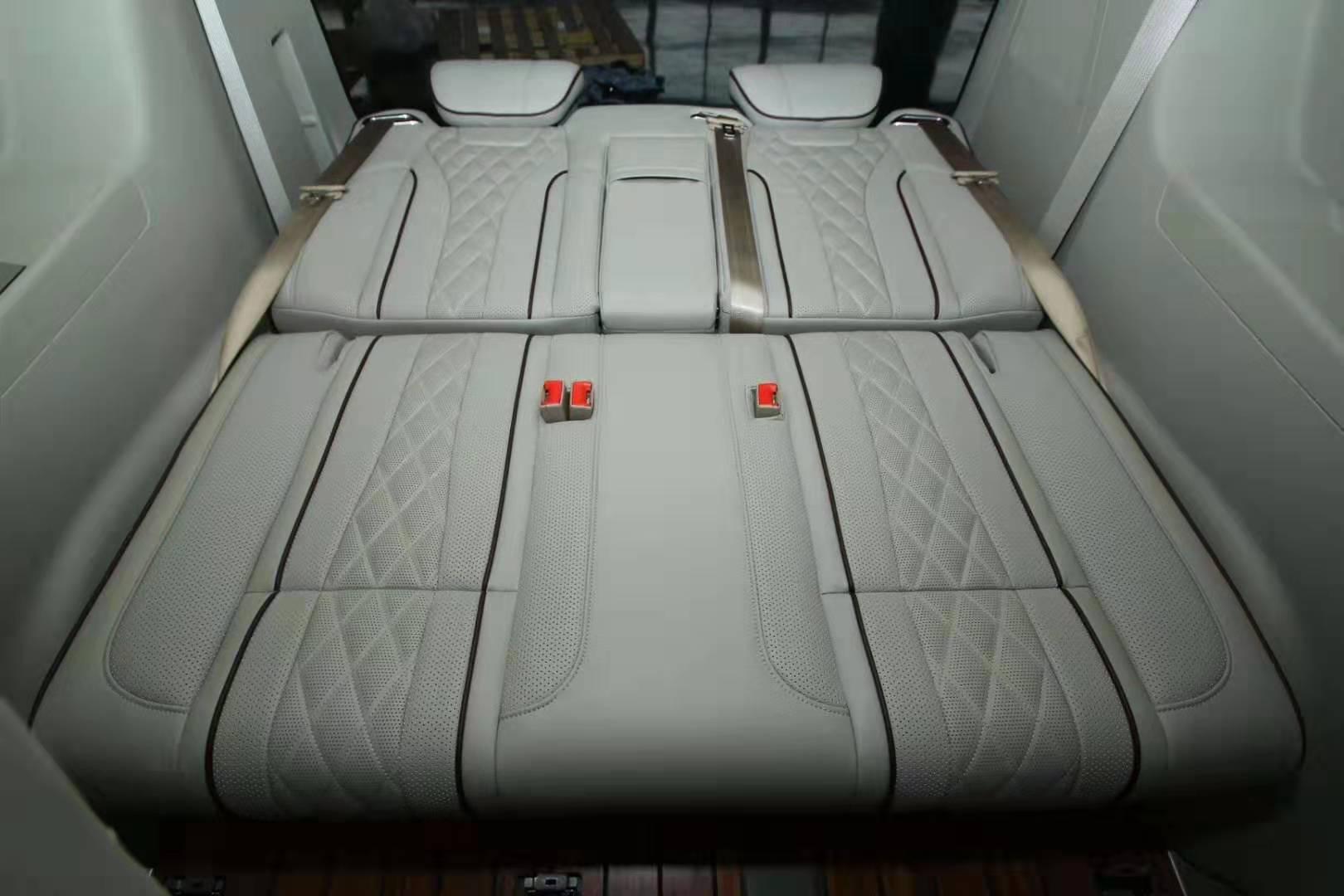 奉贤别克GL8 ES改装木地板航空座椅