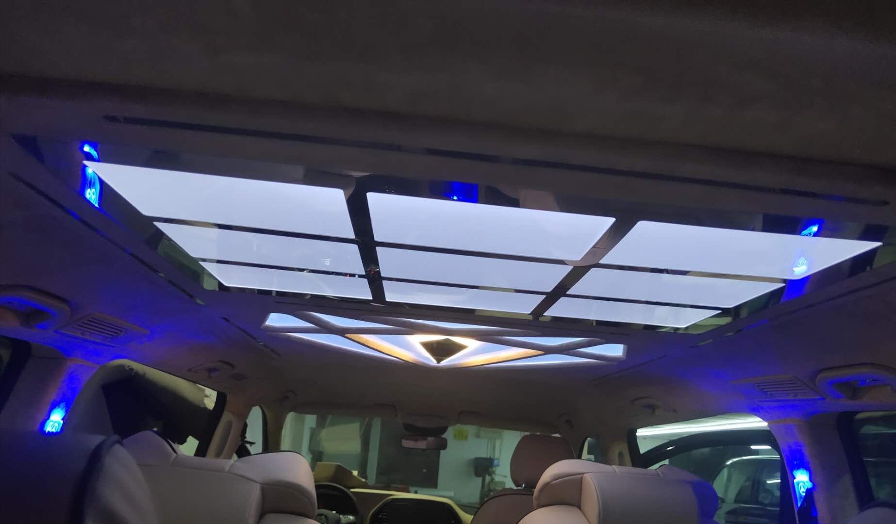 金山商务车木地板改装