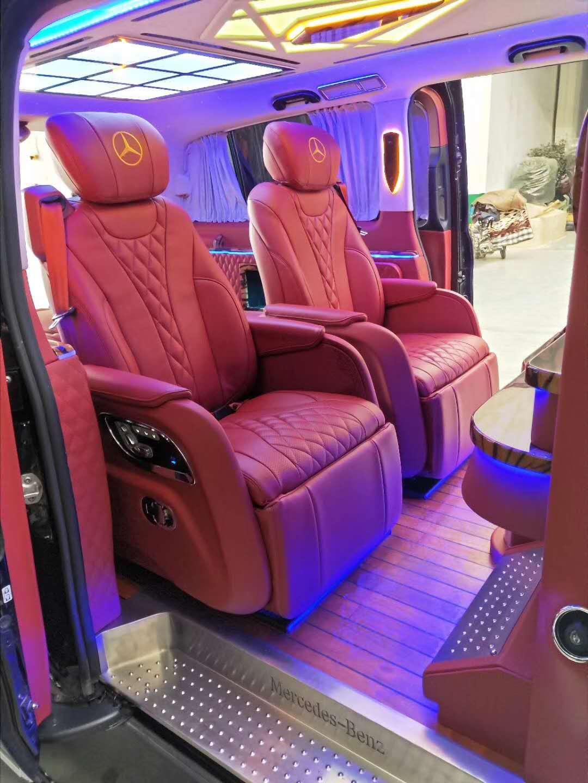 宝山商务车改装升级航空座椅