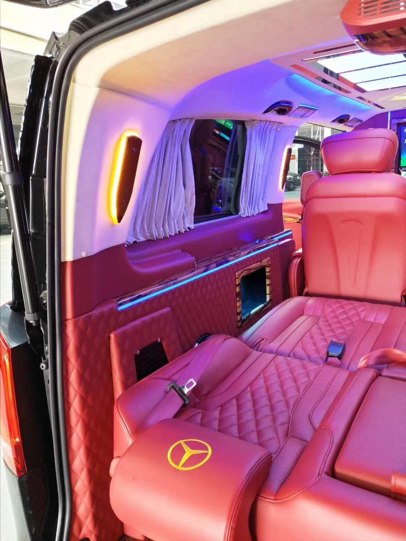 南汇商务车改装升级航空座椅