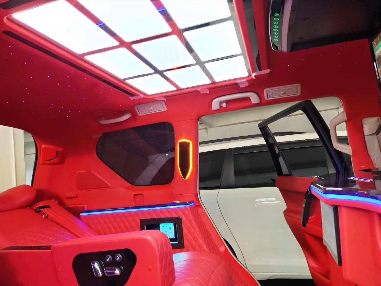 杨浦奔驰R350内饰改装航空座椅