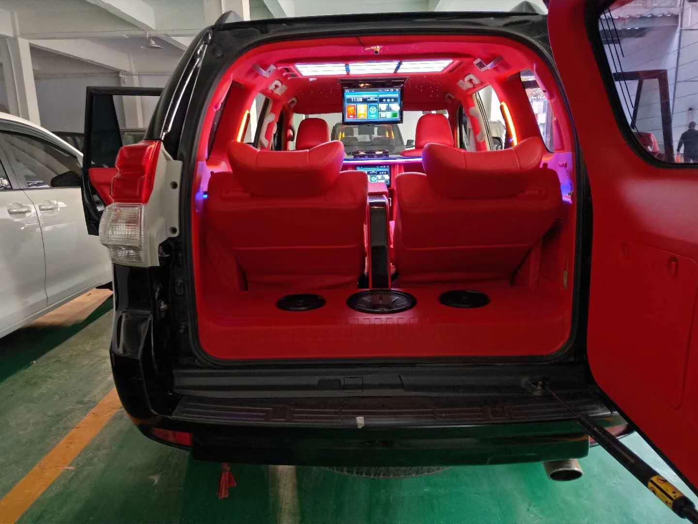 南汇奔驰G500内饰改装麂皮绒星空顶