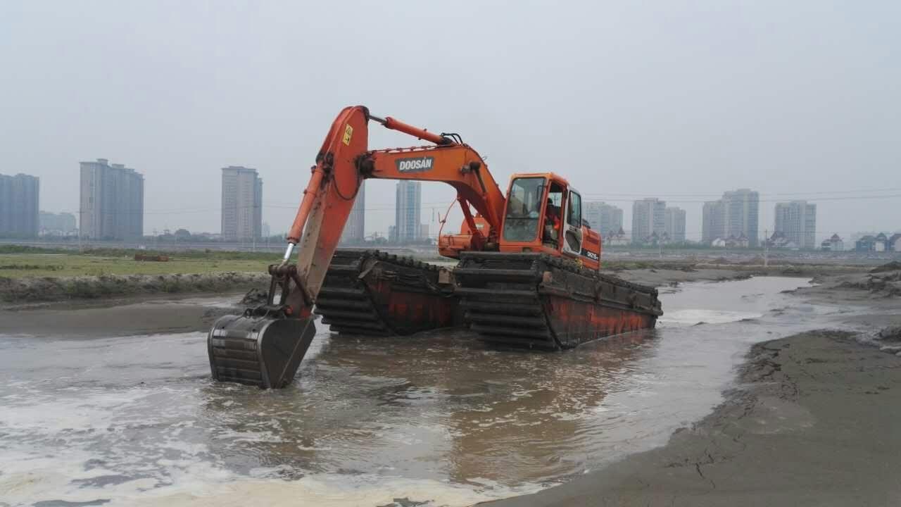 包头水上挖掘机厂