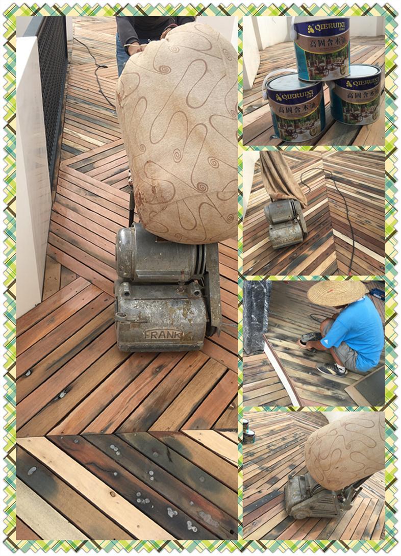 深圳木地板翻新打磨