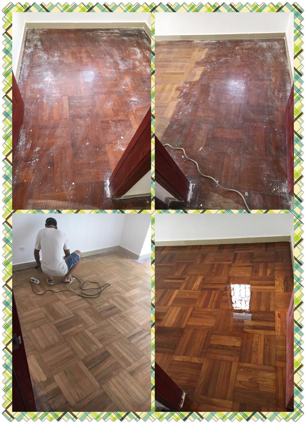 坂田木地板翻新公司