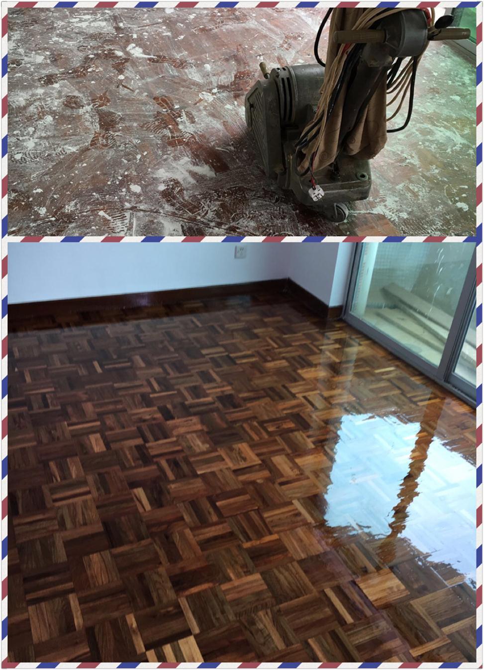 宝体木地板翻新厂家