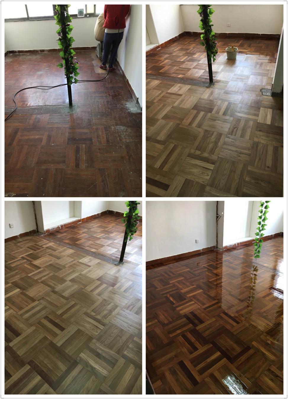 龙华实木木地板翻新刷漆