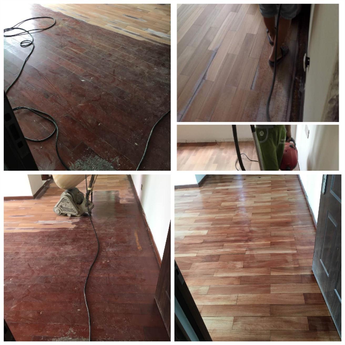 新安木地板翻新师傅