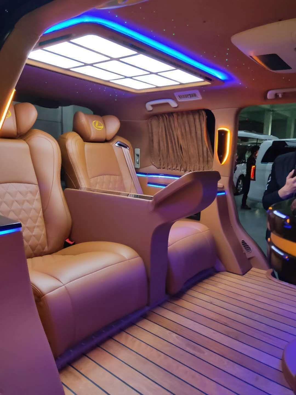 扬州雷克萨斯LX570内饰改装升级航空座椅