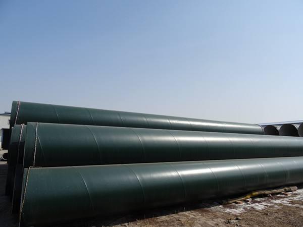 嘉兴燃气IPN8710B防腐钢管
