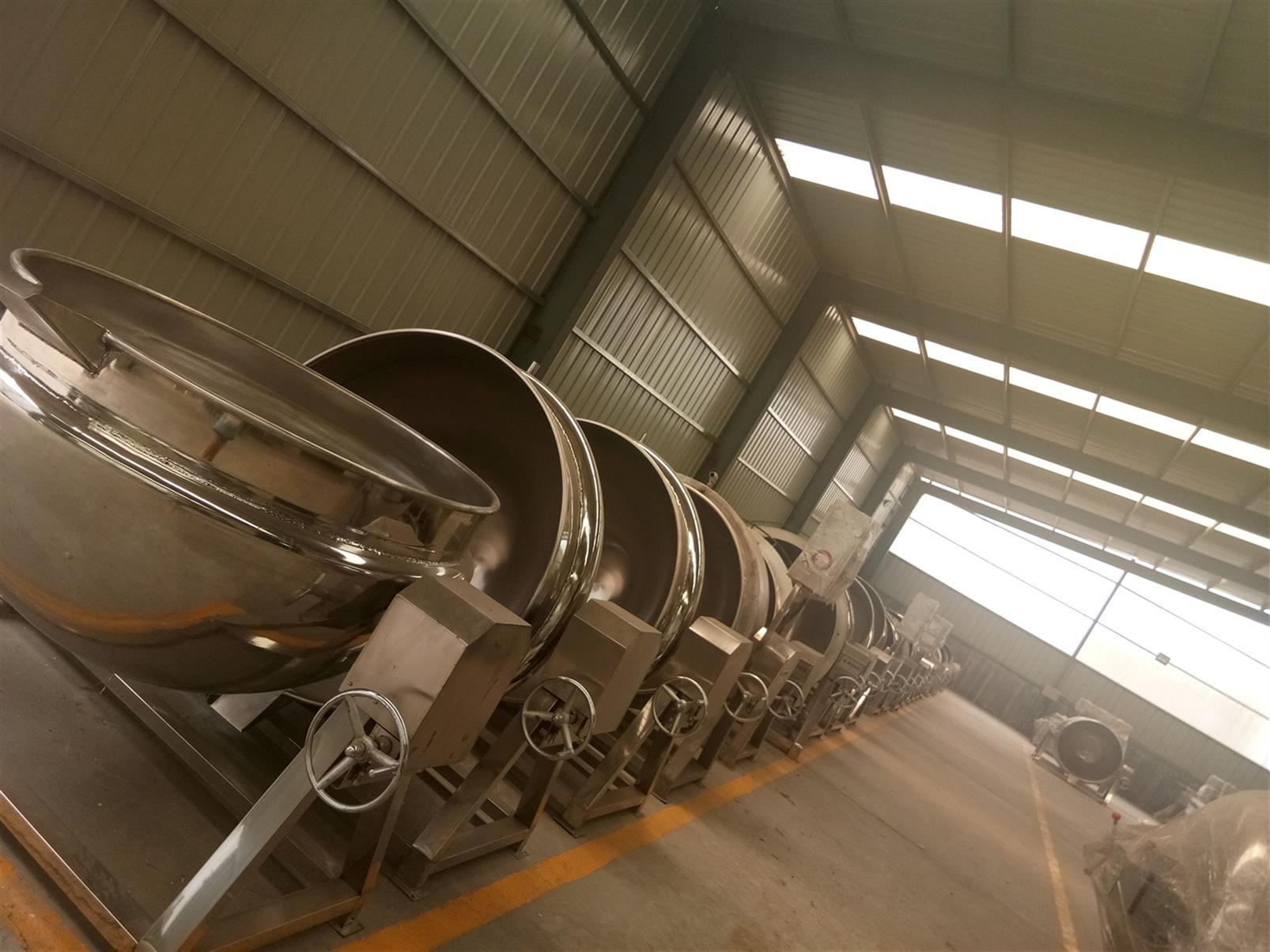 大型蒸汽夹层锅公司