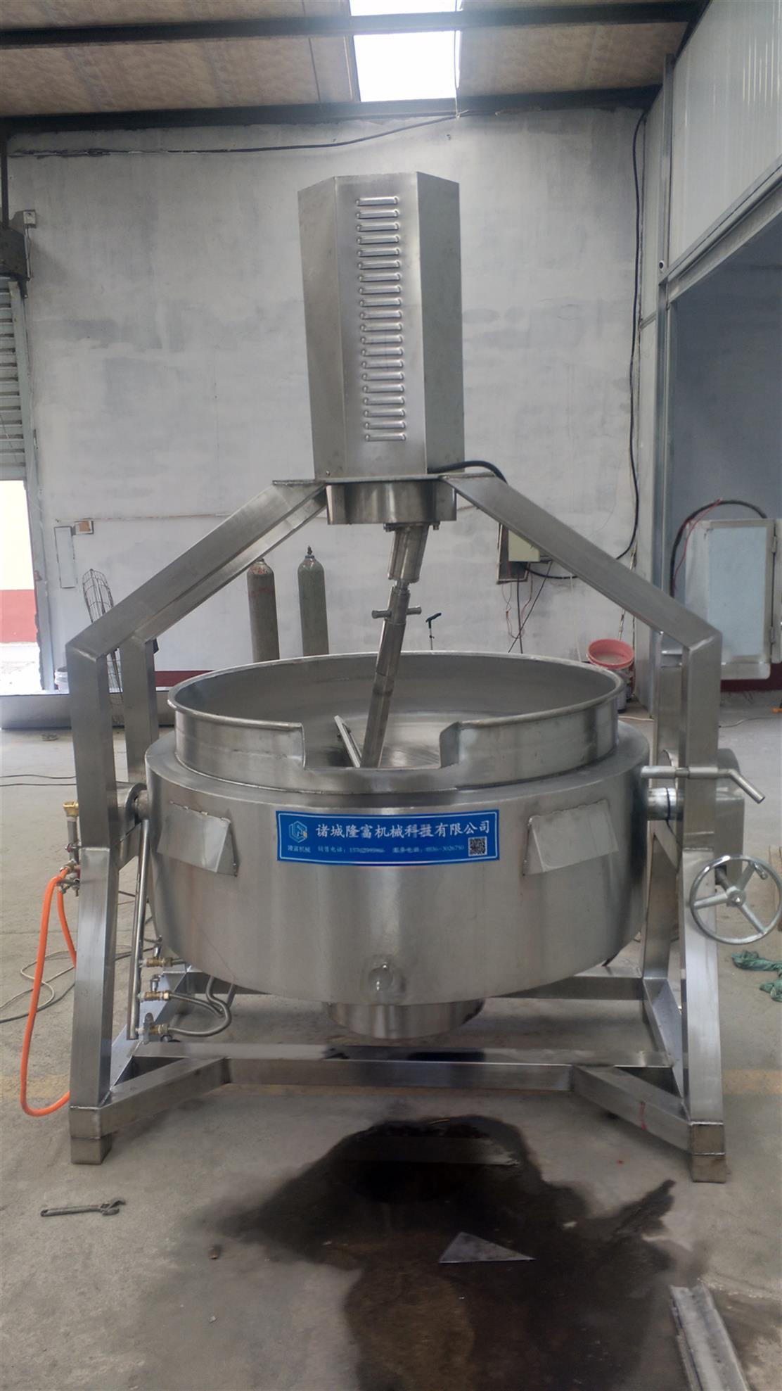 阜阳煮肉夹层锅