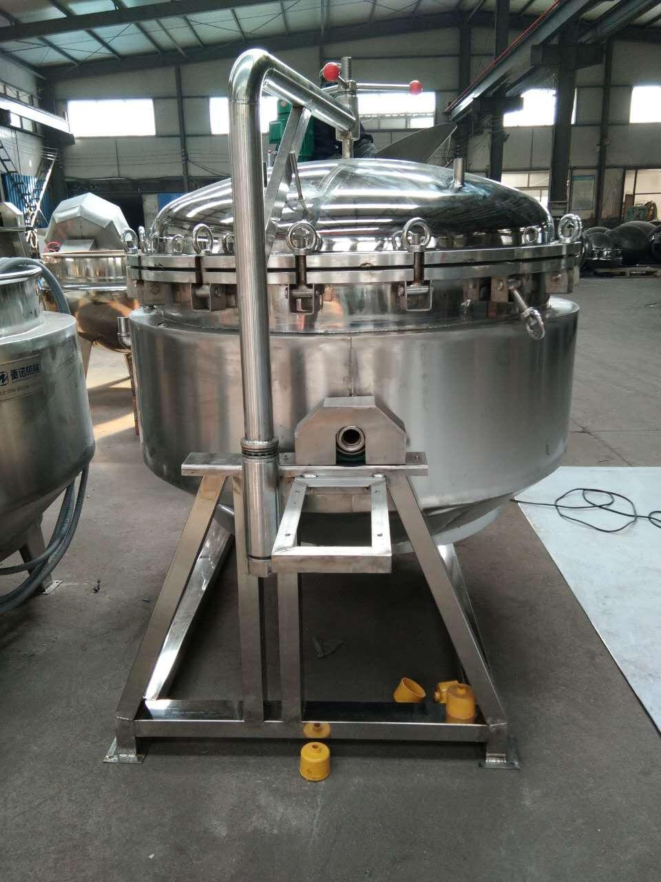 电加热肉制品夹层锅生产厂家