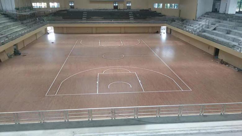 汕头地面体育场木地板
