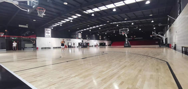 贵阳学校专用篮球馆木地板