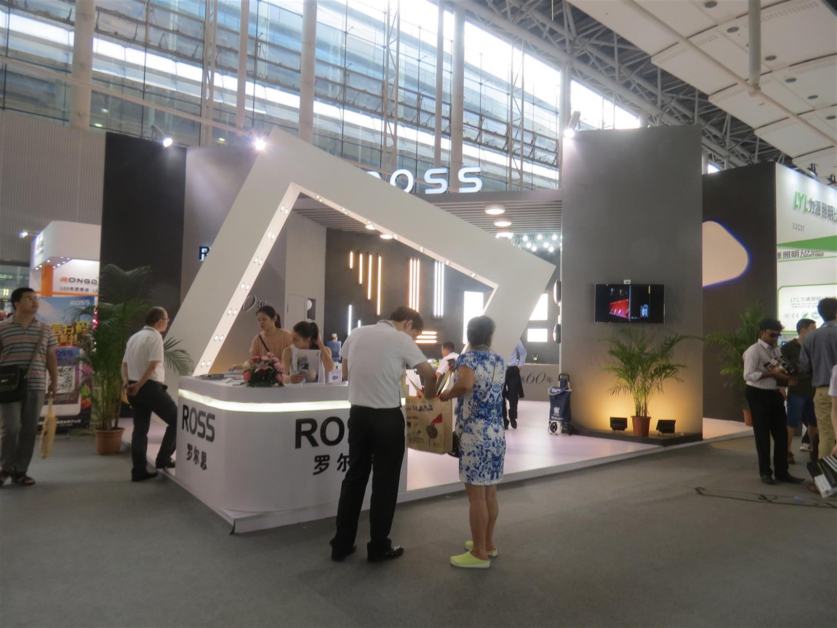 广州照明展展台设计