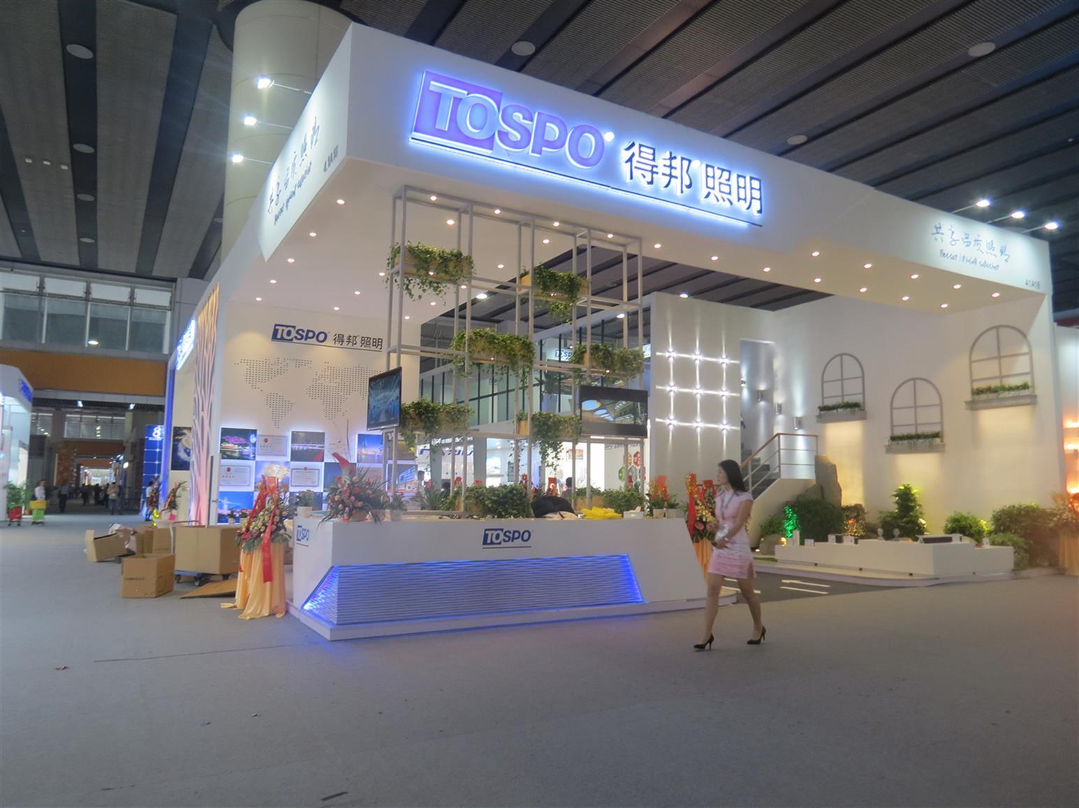 广州照明展设计搭建
