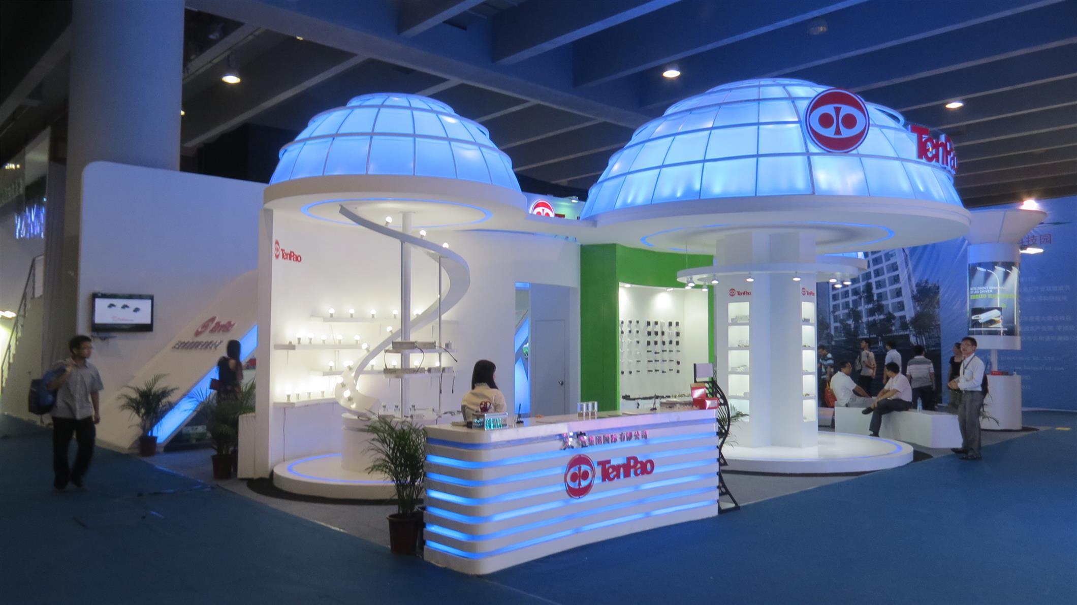 上海照明展搭建流程