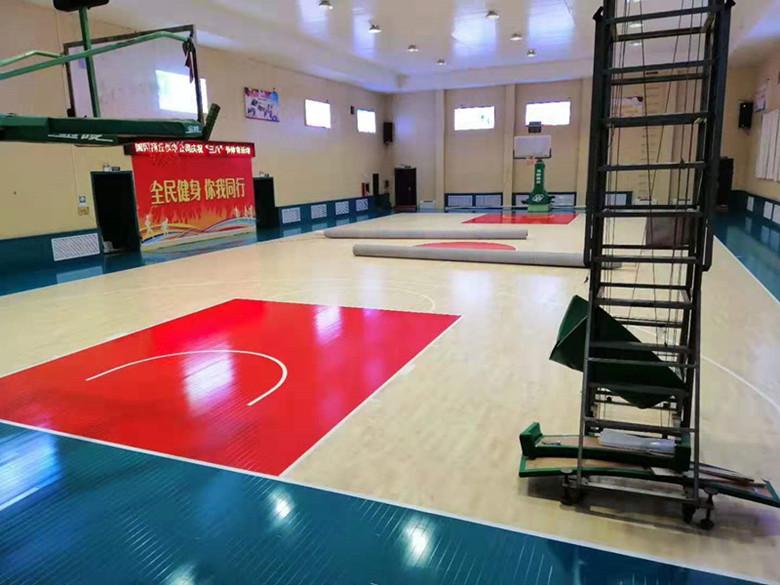 绵阳体育馆木地板