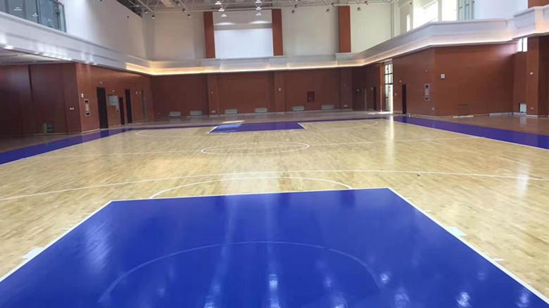 固原体育馆木地板