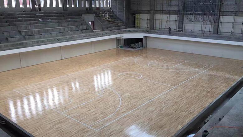 橡胶木体育馆木地板厂