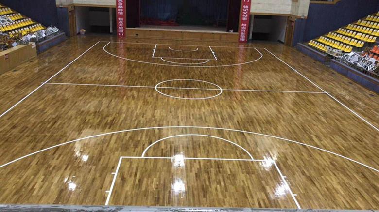 武汉体育馆木地板