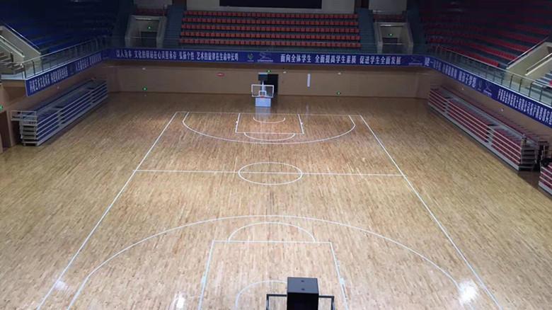钦州体育馆木地板