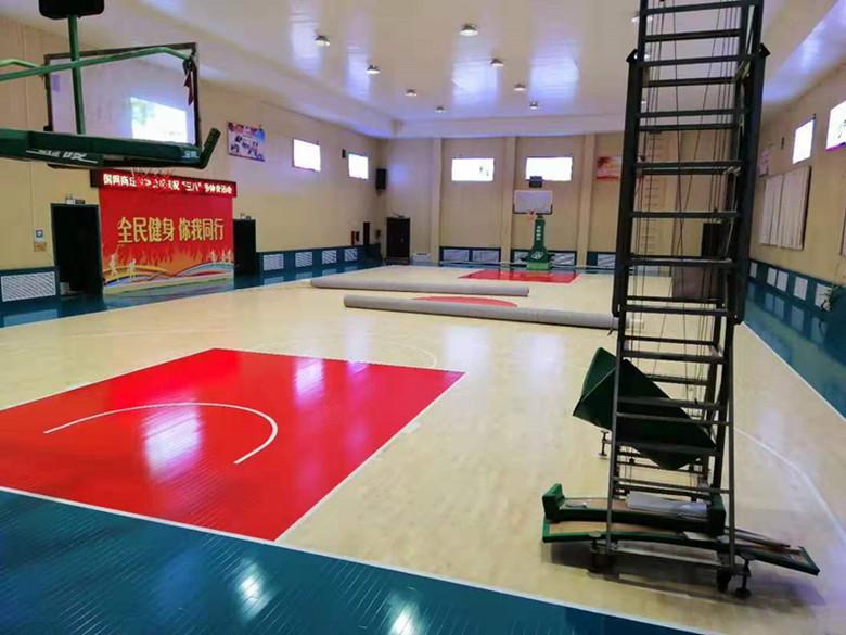 宝鸡体育馆木地板型号