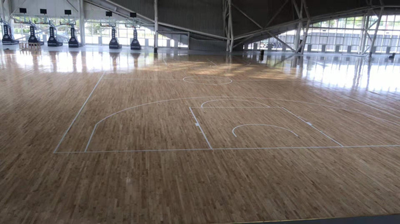 防城港篮球馆木地板