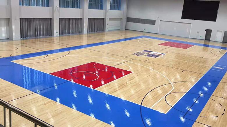 忻州NBA篮球馆木地板