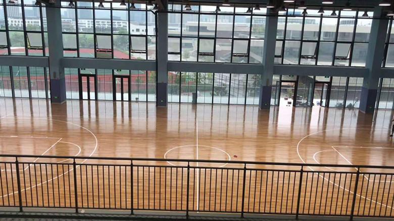 长沙市单龙骨篮球馆木地板厂