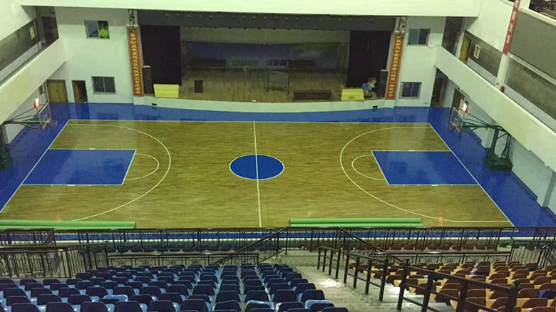 拉萨篮球馆木地板