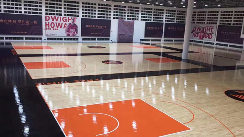 郑州篮球馆木地板