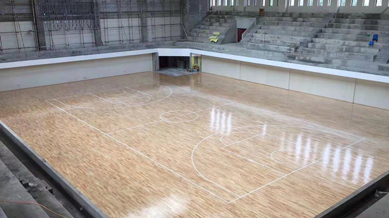 林芝NBA篮球馆木地板