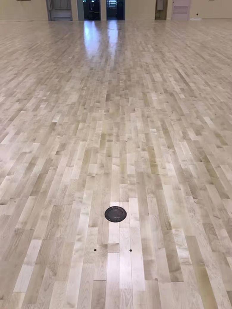 乌兰察布篮球馆木地板
